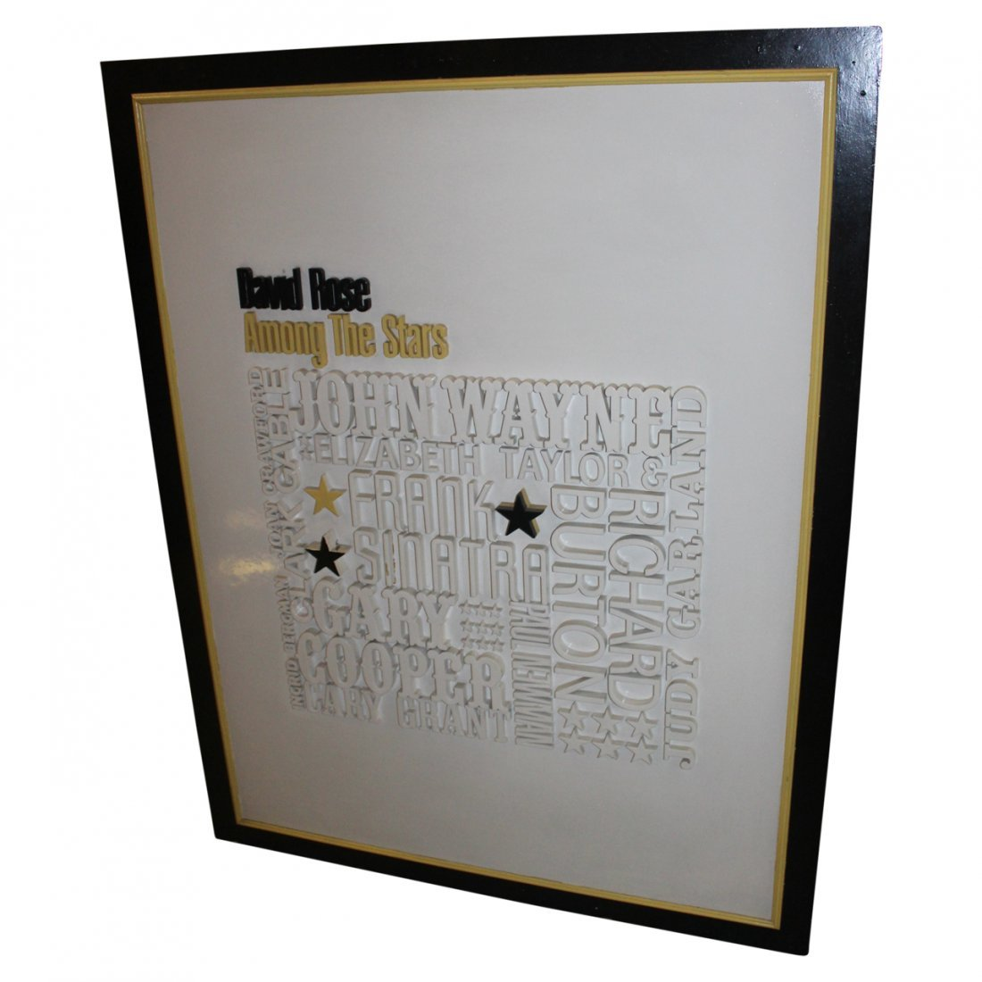 "David Rose ""Stars"" Wall Art"