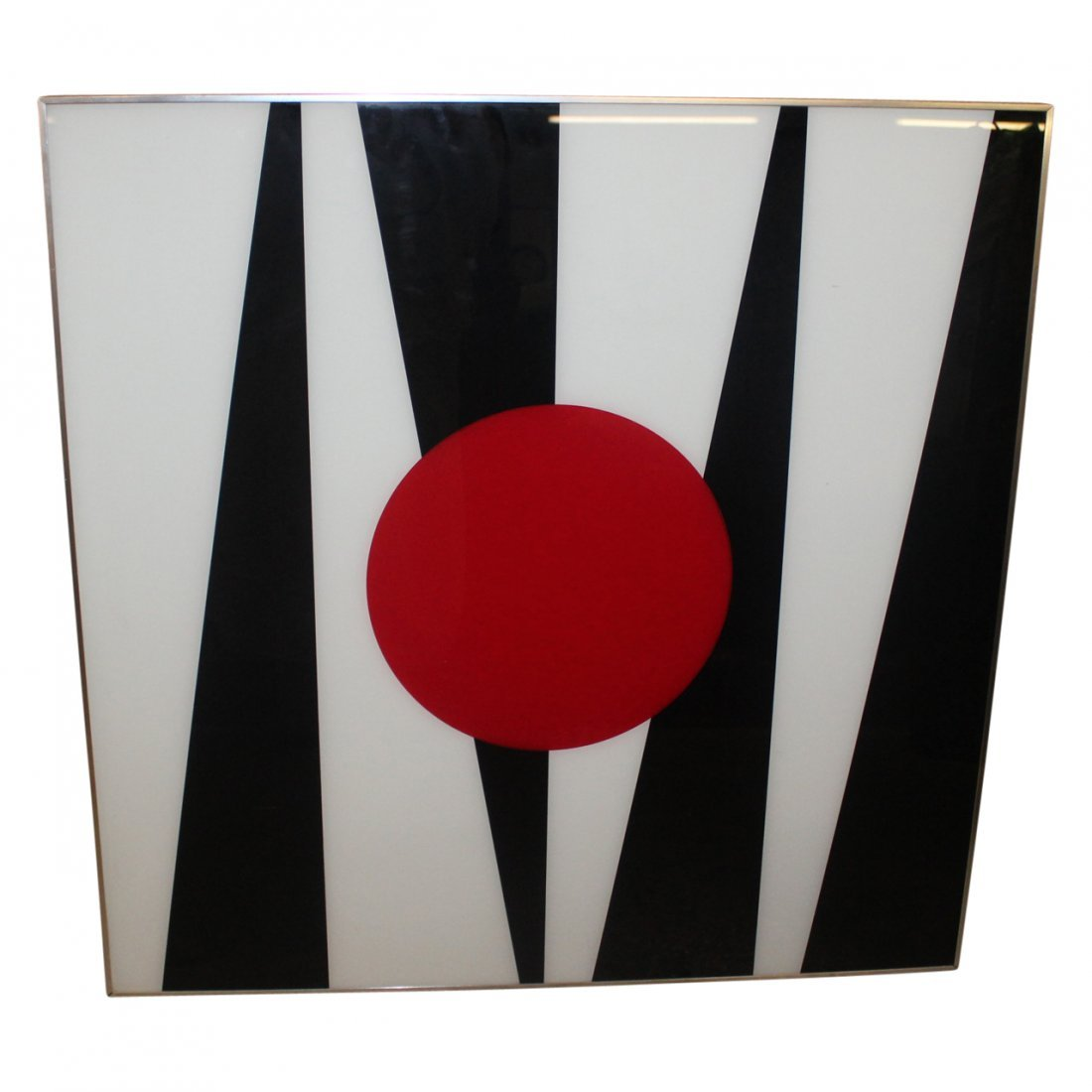 Abstract in Black & Red Turner Mfg.