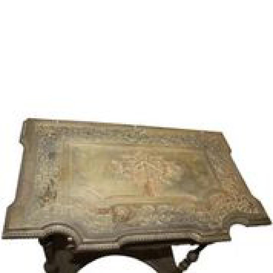 Antique Bronze or Brass Table - 3
