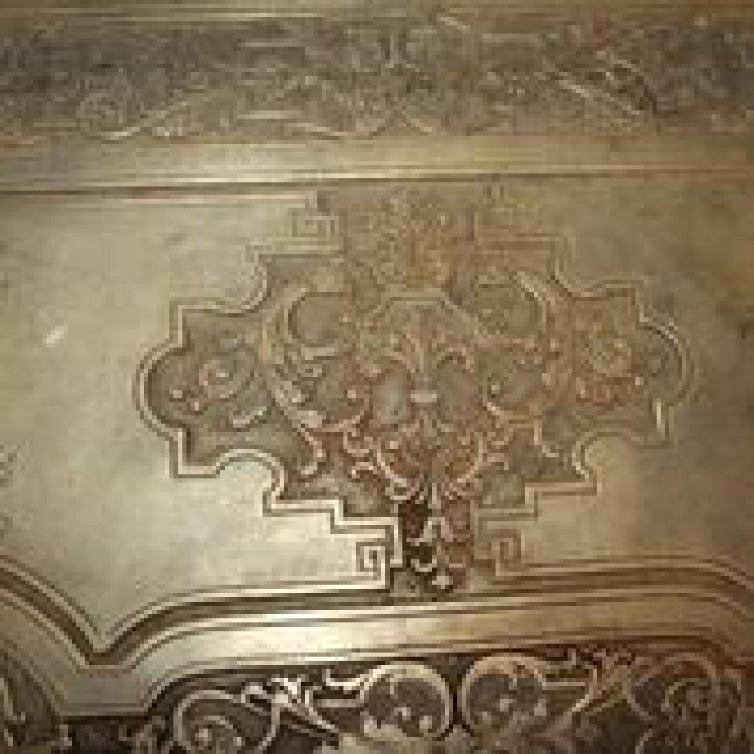 Antique Bronze or Brass Table - 4