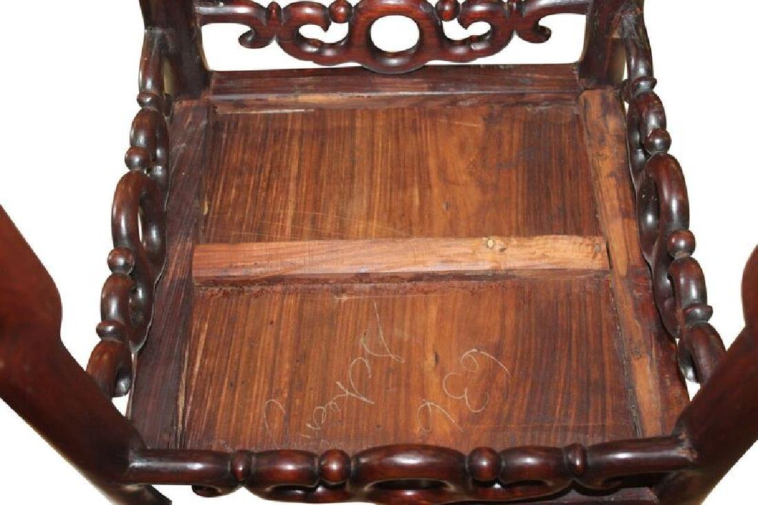 Asian Chinese Plant Stand - 4