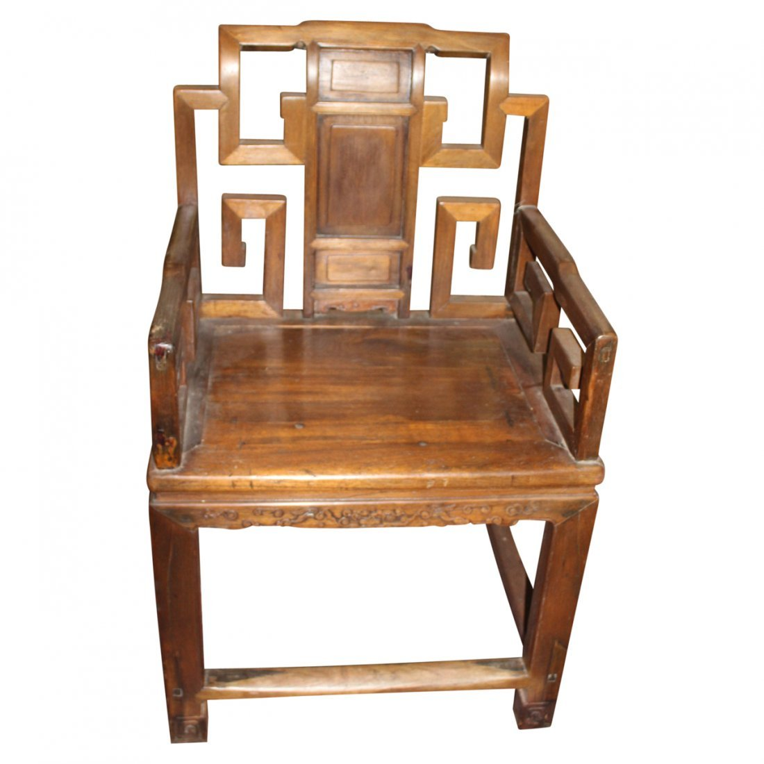Antique Chinese Arm Chair - 2
