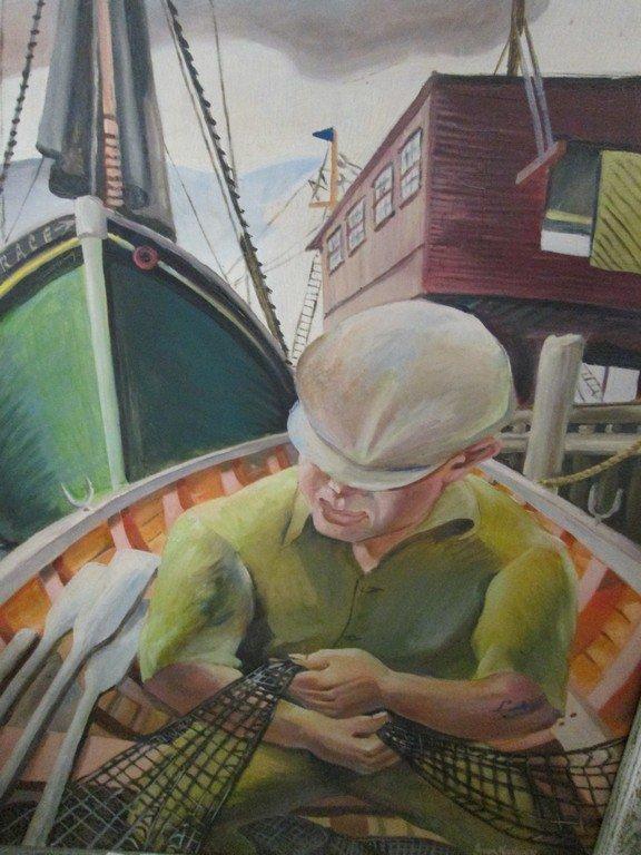 Joseph Kaplan Oil on Canvas - 3