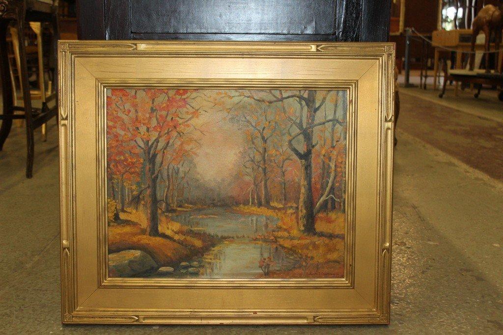 Oil on Board by Robert Emmett Owen