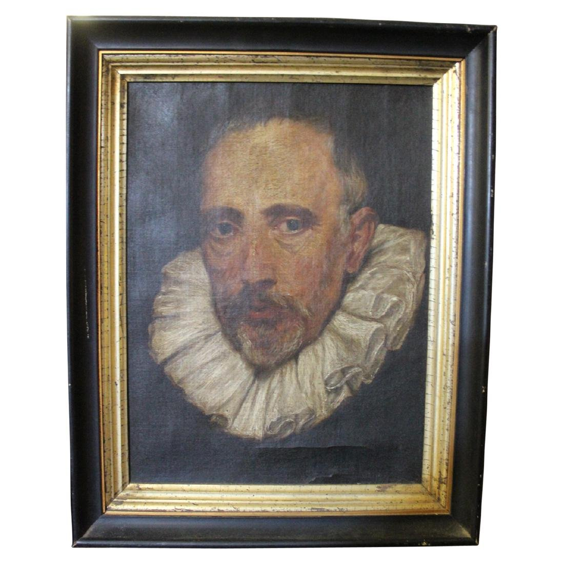 Antique Painting of Shakespeare