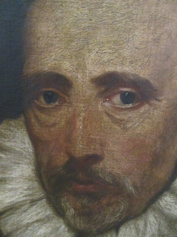Antique Painting of Shakespeare - 2