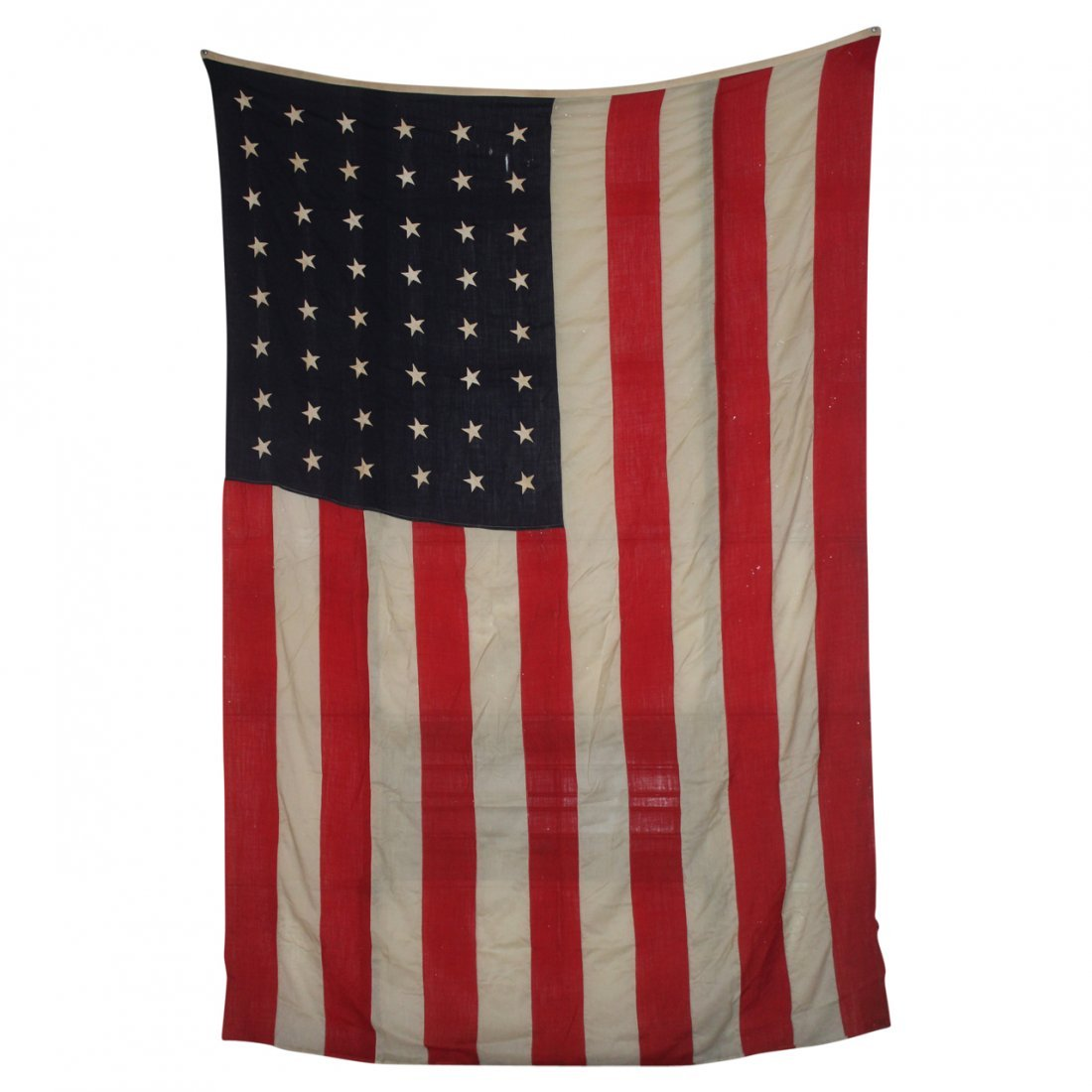 """Early 48 Star US Flag 8' x 11'6"""""""