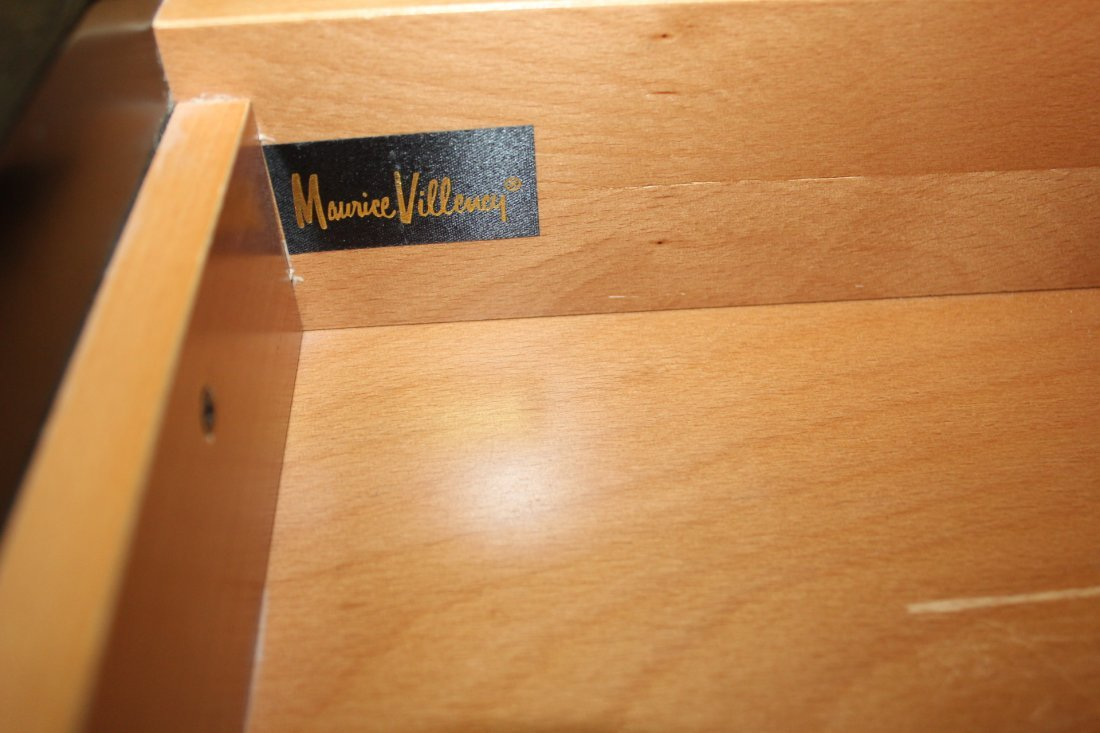 Pair of large Lacquer Bureau's by Maurice Villency - 5
