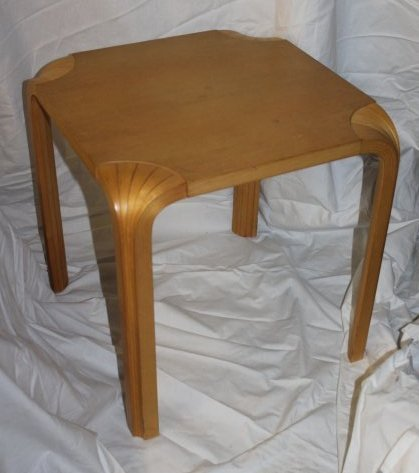 Alvar Aalto for Artek Fan Leg Side Table