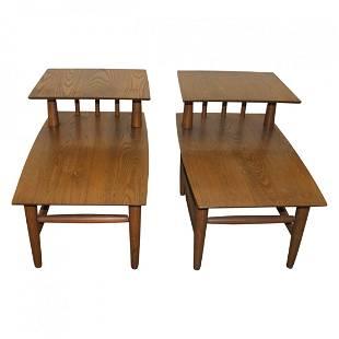 Pair of Haywood Wakefield End Tables