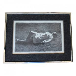 Reclining Child Print by Jack Bookbinder