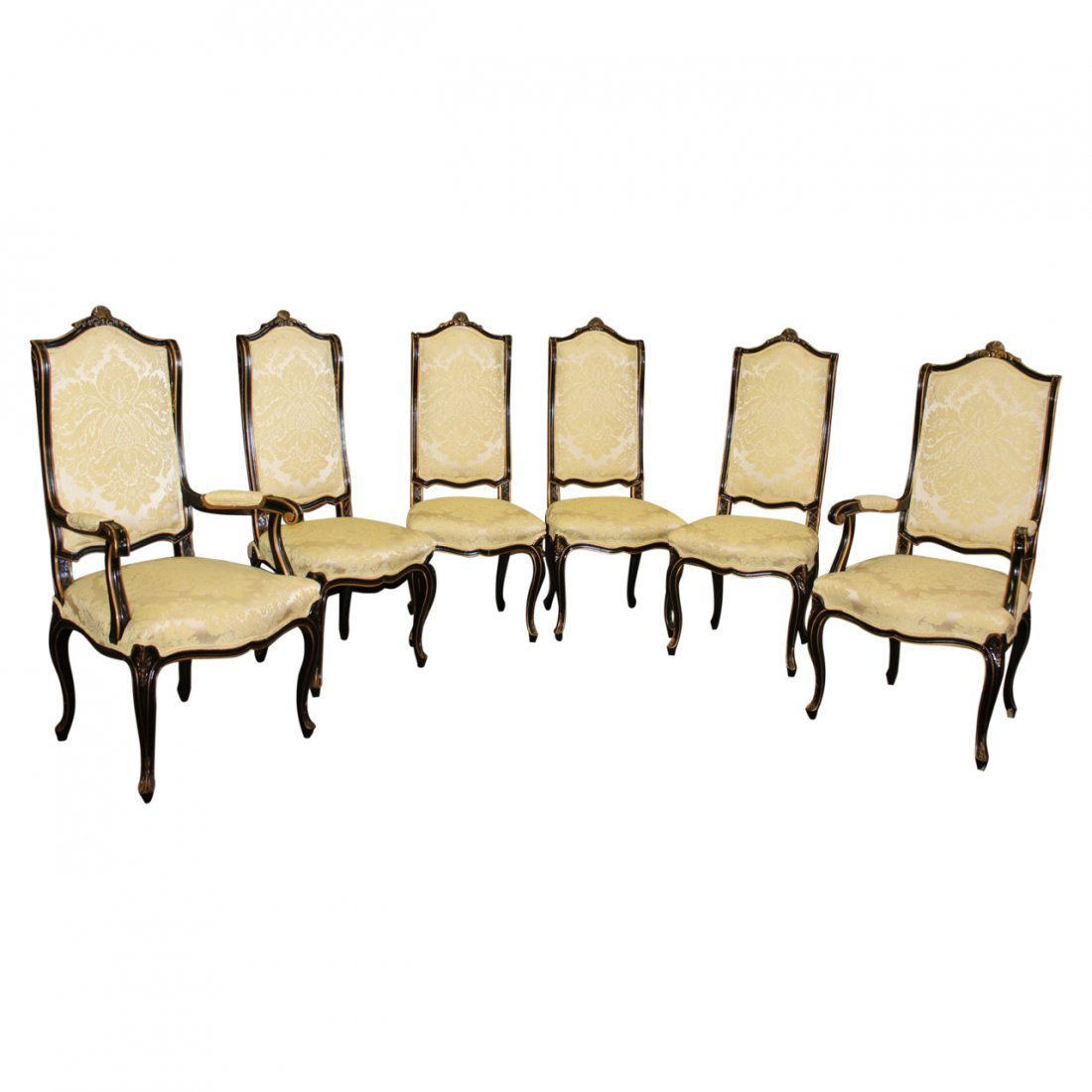 Set Of 6 Kindel French Style Dining Chairs