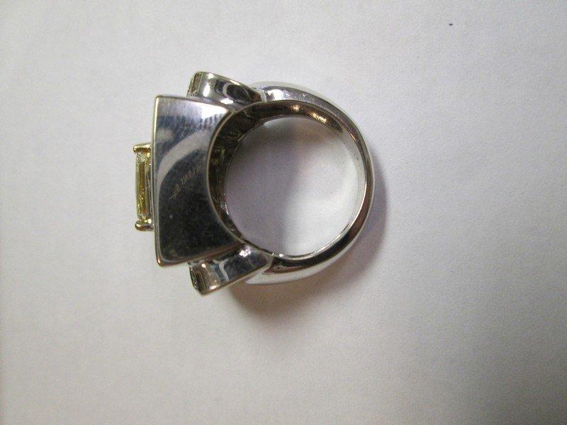 Gold Diamond Ring 7.75 Carats - 4