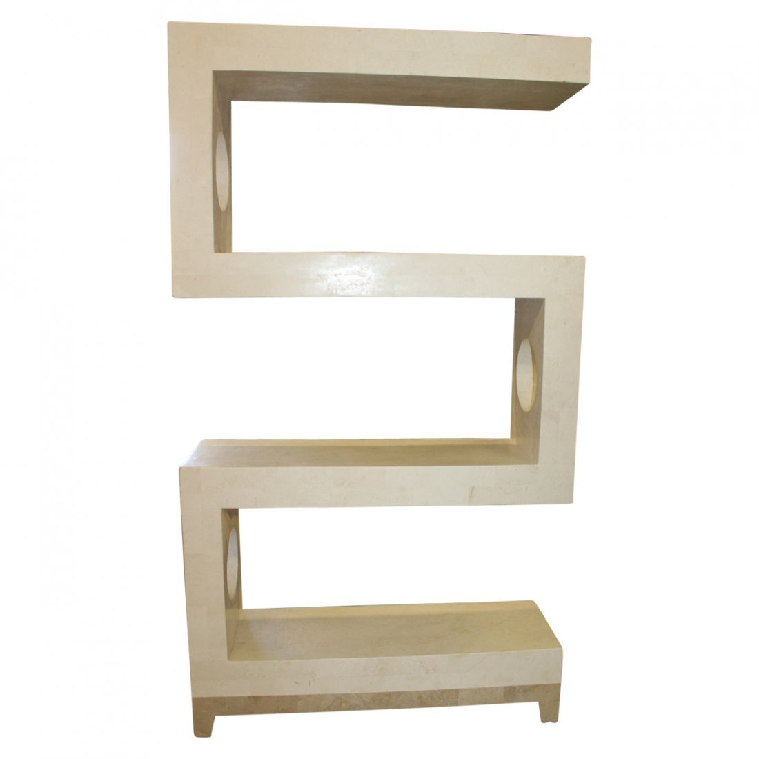 Tessellated Etagere by Marquis Collection Beverly Hills