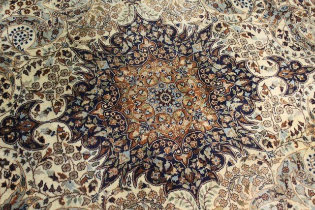 Extremely Fine Persian Carpet - 3