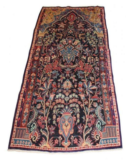 Vintage Persian Sarouk Carpet