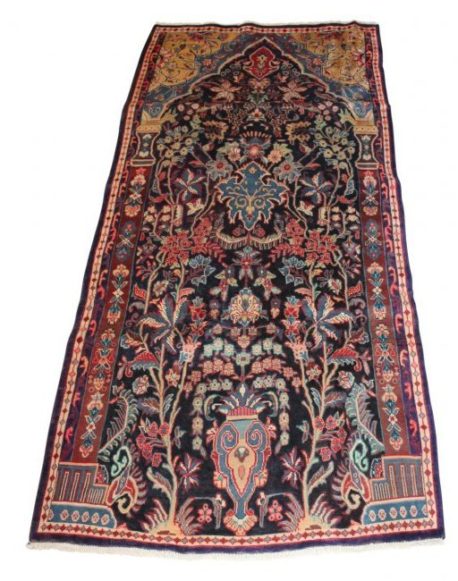 Vintage Persian Sarouk Carpet