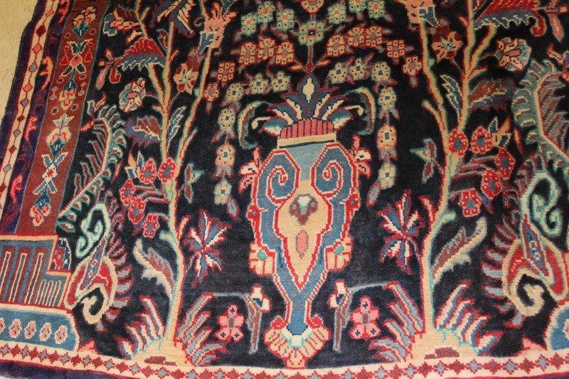 Vintage Persian Sarouk Carpet - 2