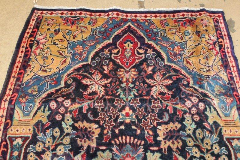 Vintage Persian Sarouk Carpet - 4