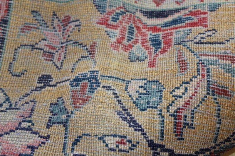 Vintage Persian Sarouk Carpet - 5