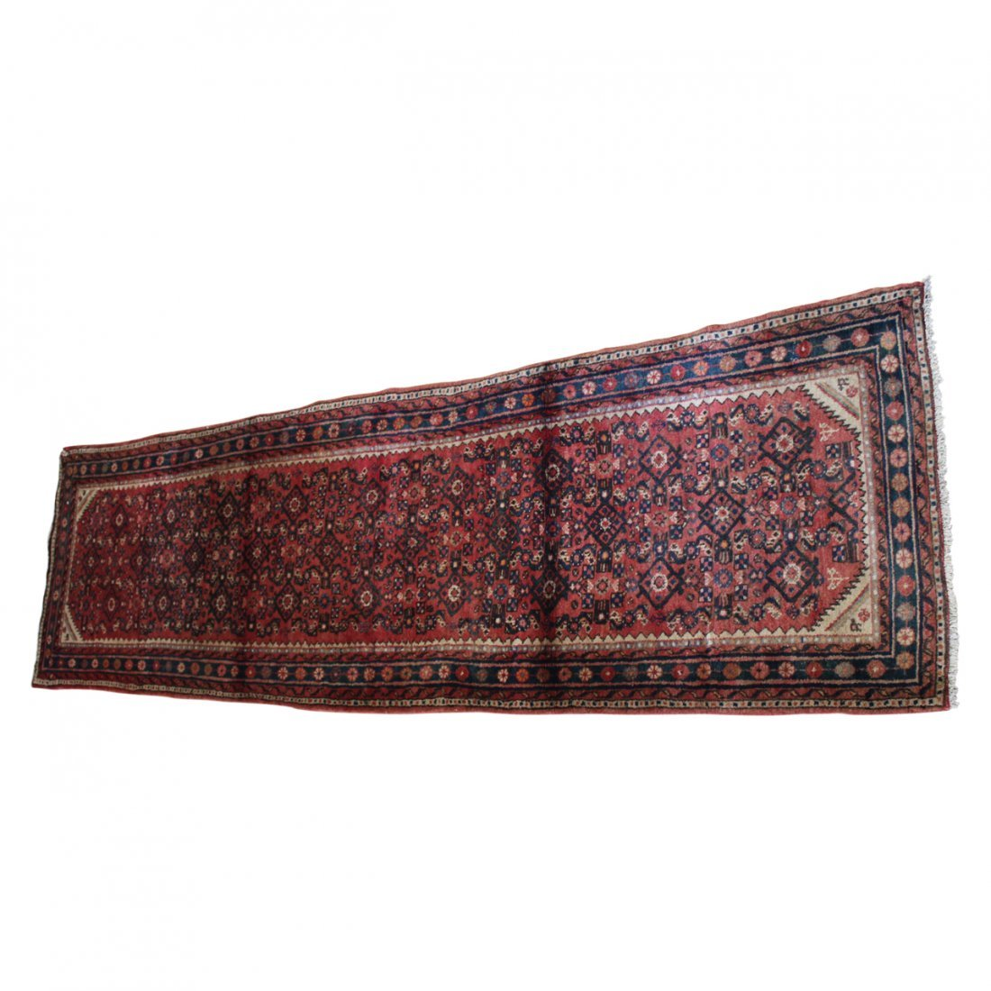 Vintage Persian Malayer Carpet