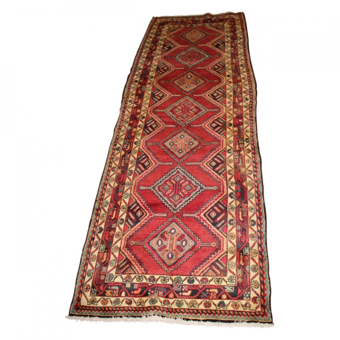 Vintage Hamadan Persian Carpet