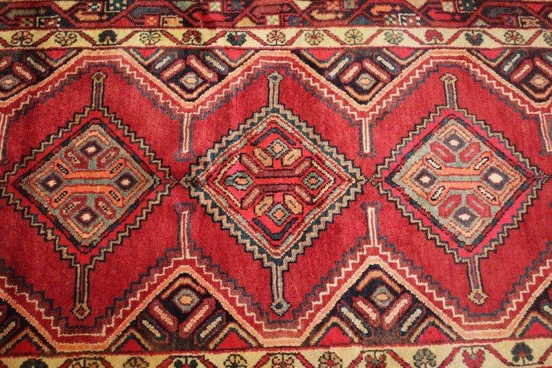 Vintage Hamadan Persian Carpet - 2