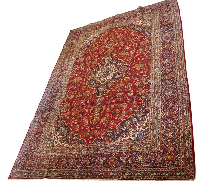 Antique Persian Room Size Carpet
