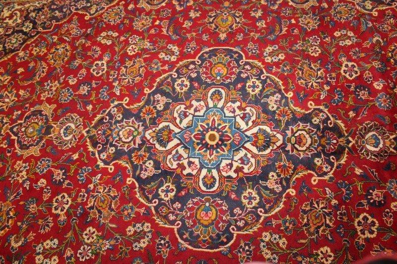Antique Persian Room Size Carpet - 3