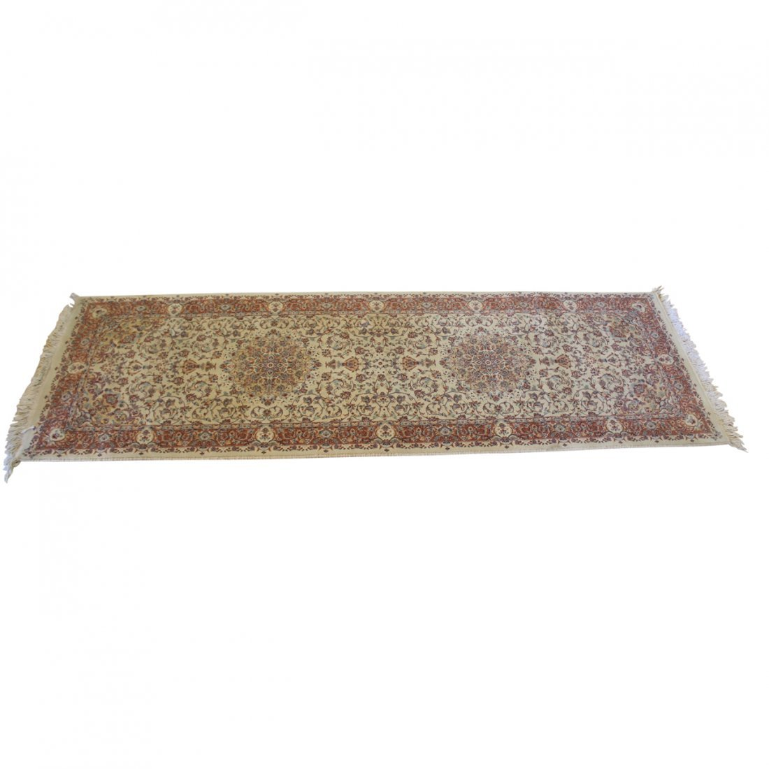 Vintage Tabriz Style Machined Runner