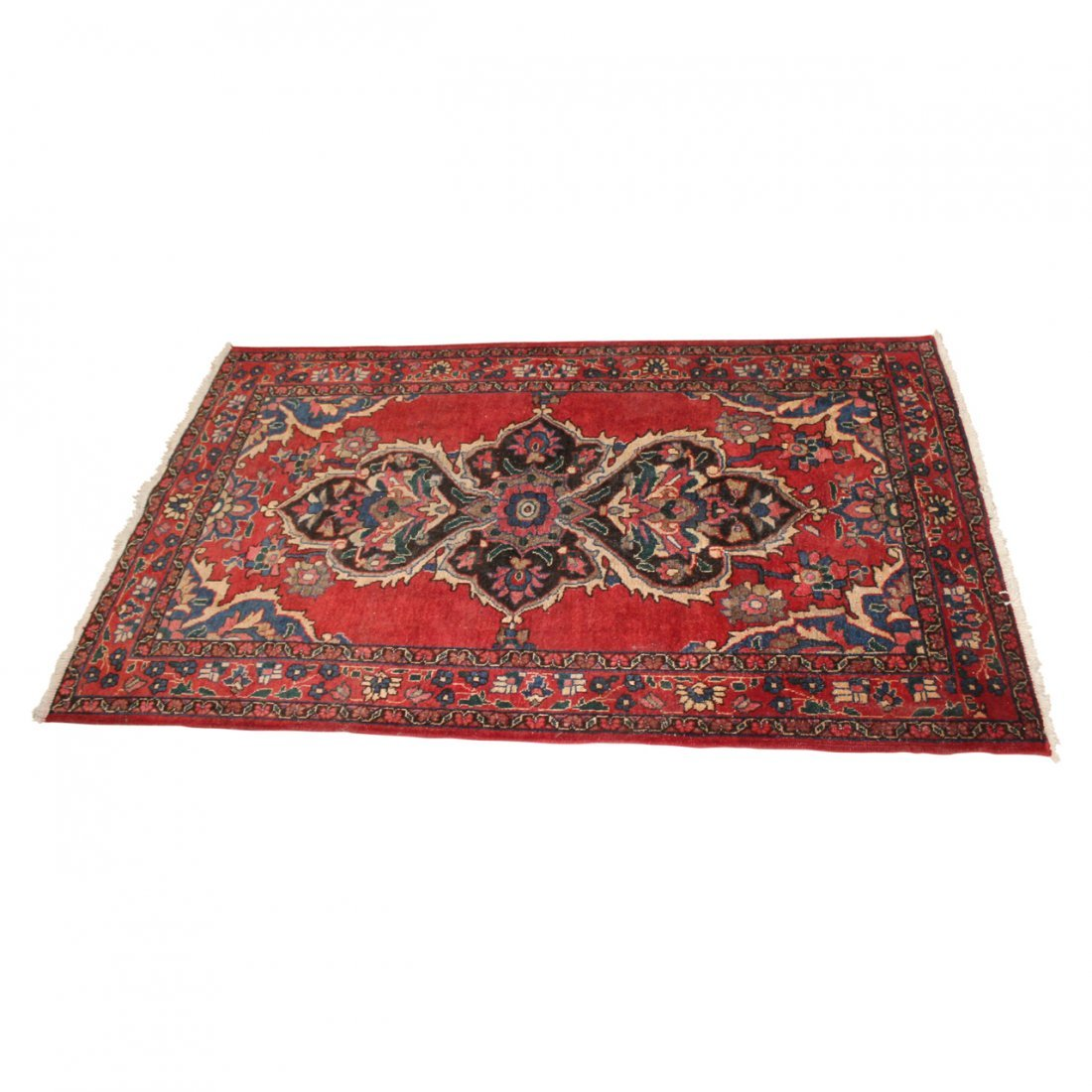 Vintage Sultanabad Persian Carpet