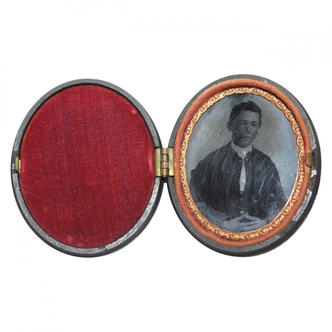 Daguerreotype or Ambrotype of a Gentleman
