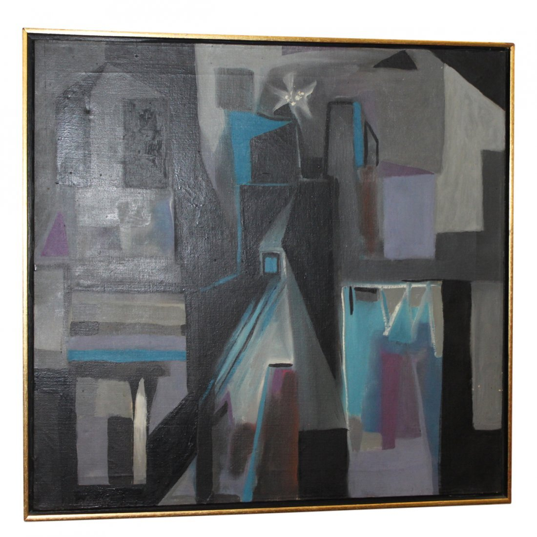 Modern Abstract Painting by R. Lapelle Philadelphia