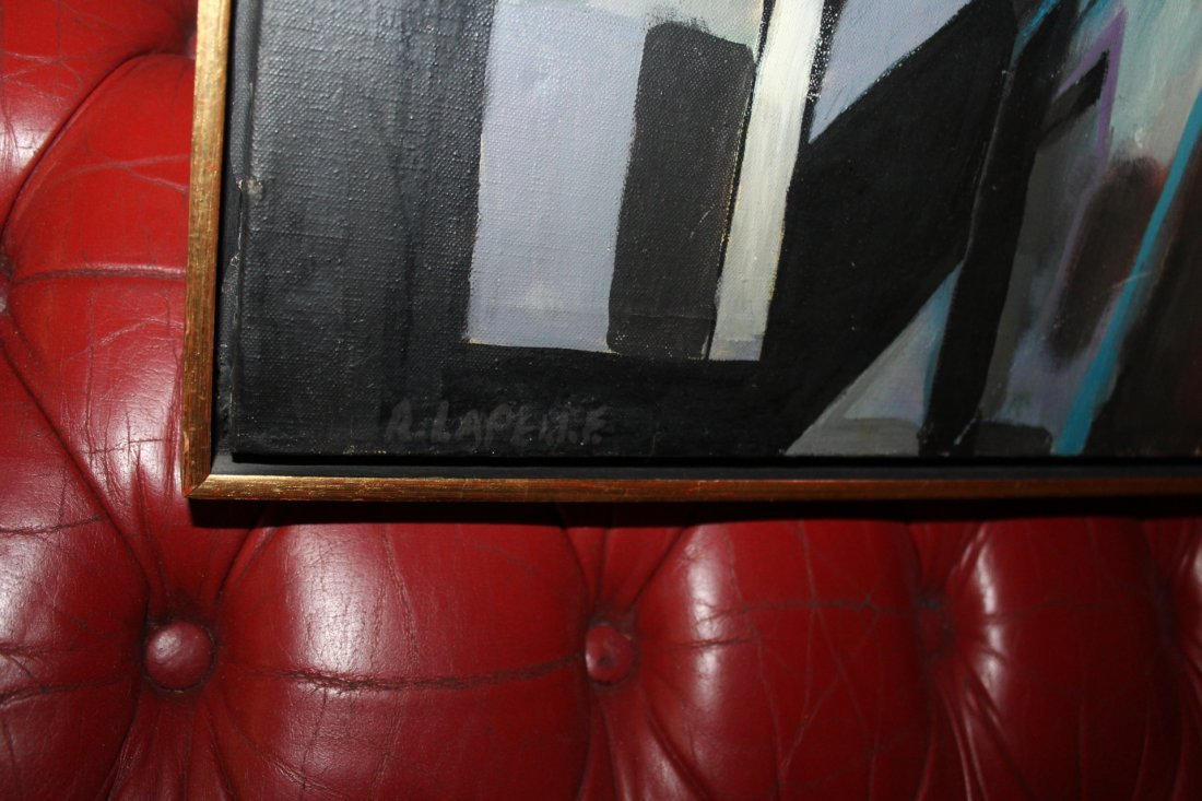 Modern Abstract Painting by R. Lapelle Philadelphia - 2