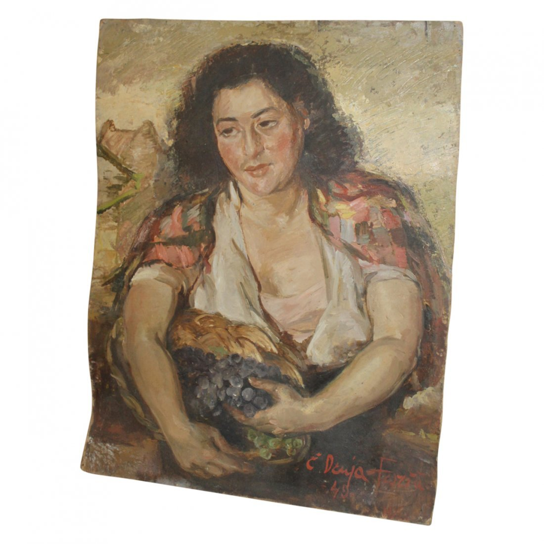 Painting of a Woman by Forshu Druga