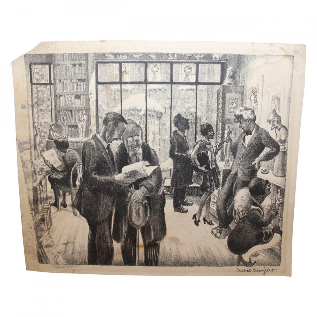 Print Mabel Jacque Williamson Dwight  (1876 - 1955)