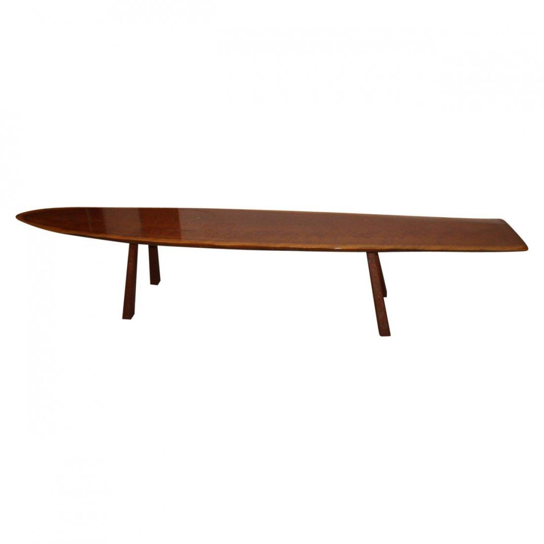 Rare MCM Surfboard Coffee Table