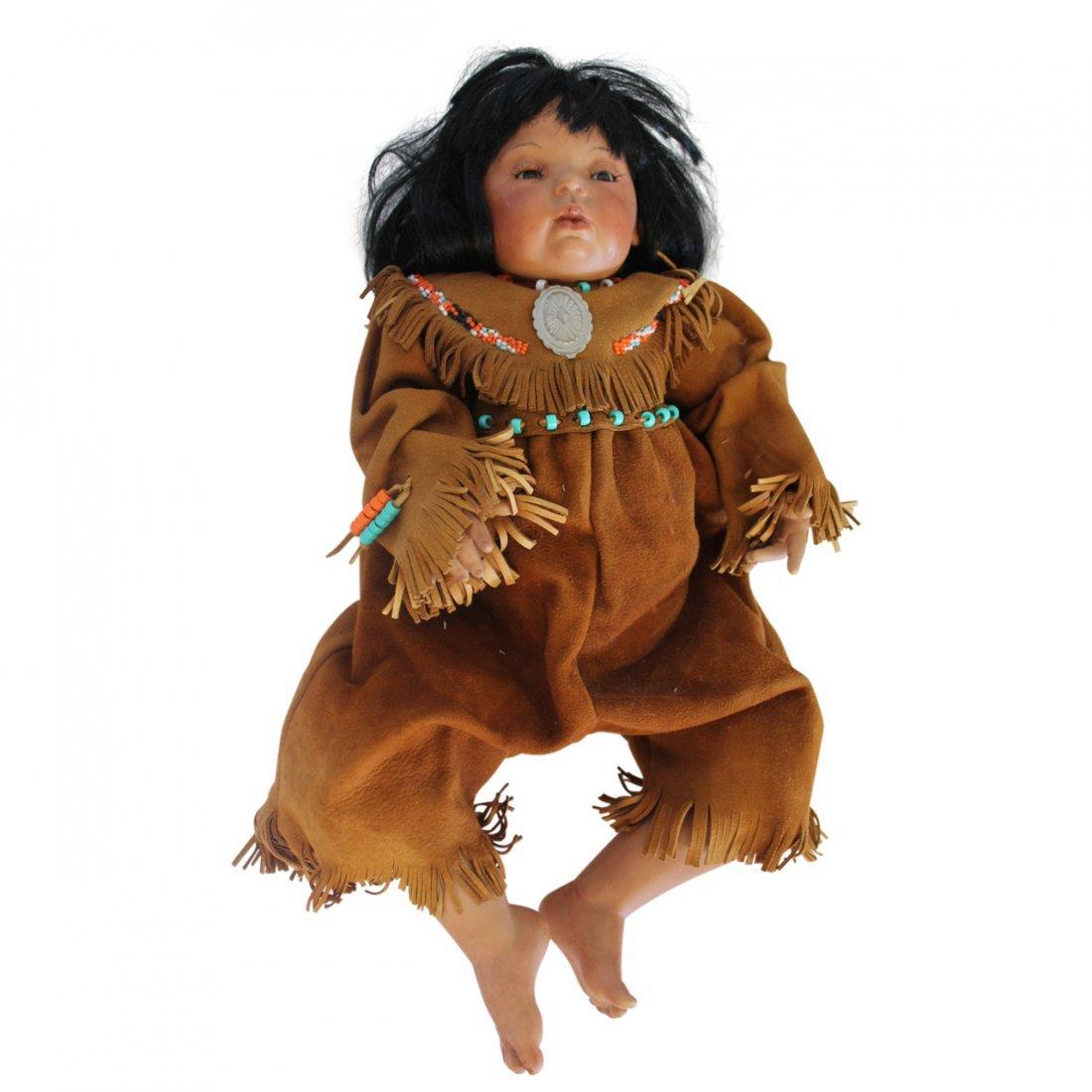 Quality Native American Cherokee Doll