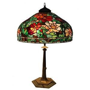 Vintage Tiffany Style Large Table Lamp