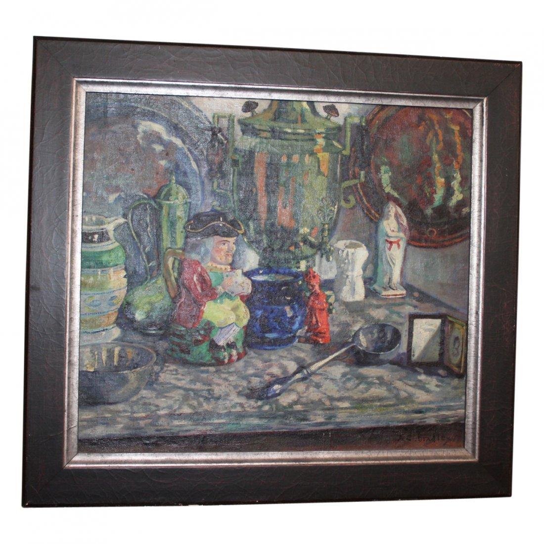 Anne Cary Bradley Oil Painting Signed