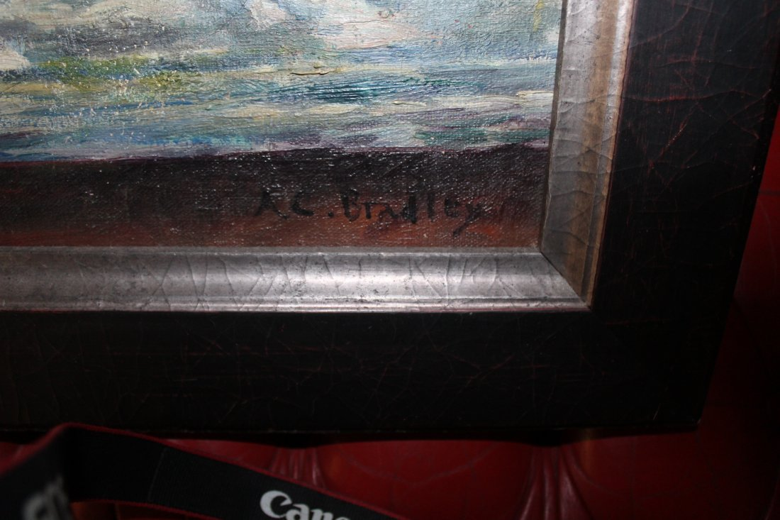 Anne Cary Bradley Oil Painting Signed - 2