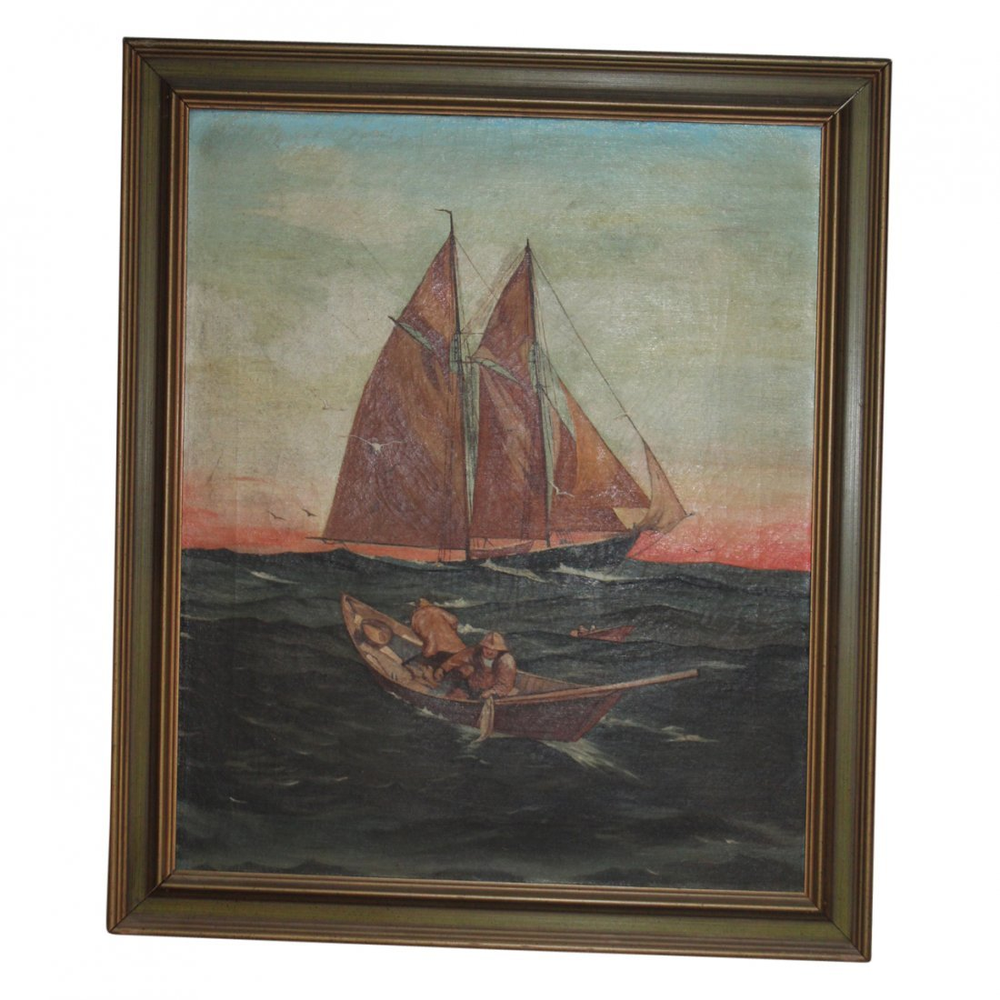 Oil Painting in the Manner of Gordon Grant