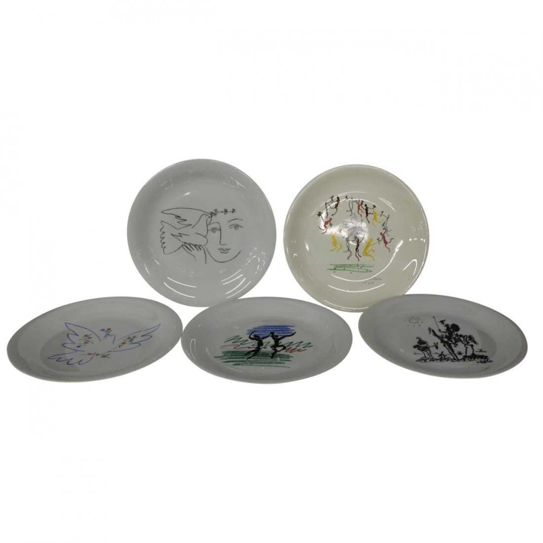 Picasso Plates by Limoges Measuring