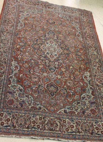 Persian Tabriz Antique Carpet