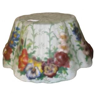 Puffy Glass Hand Painted Lamp Shade