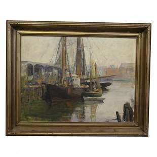 Allen D. Cochran Painting