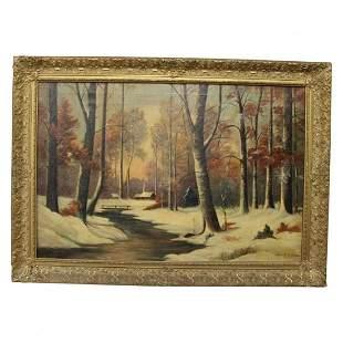 Painting John Fabian Carlson  (1874 - 1945)