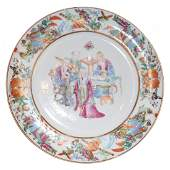 Early 19th Century Chinese Famille Rose Plate