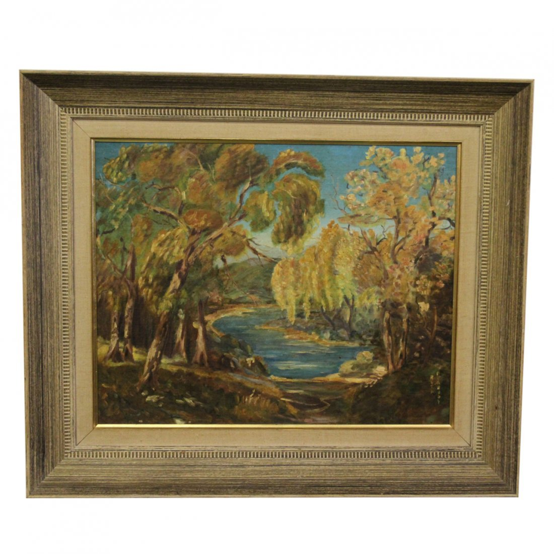 Ruth Peabody Painting on Board