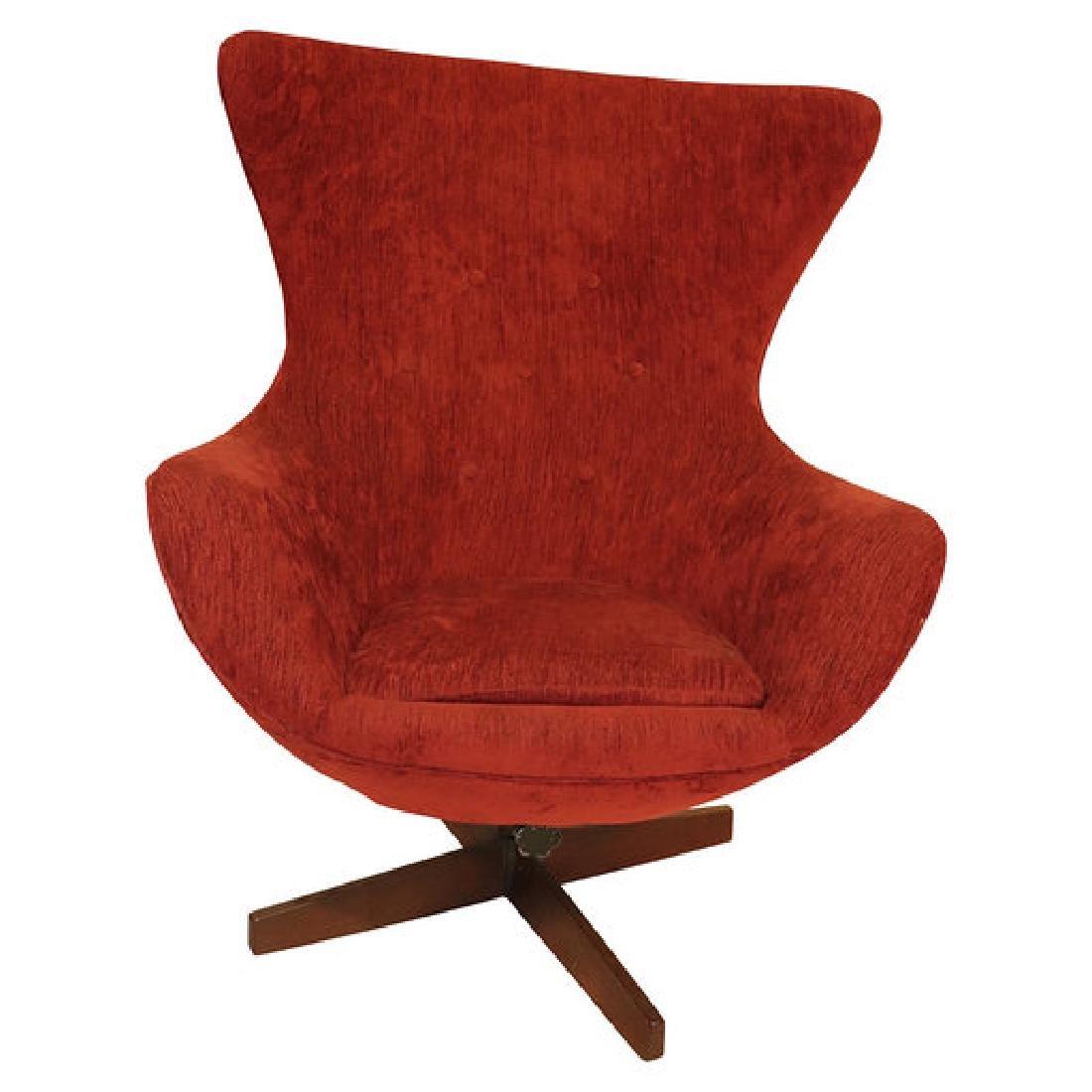 Mid Century Modern Swivel Chair